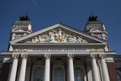 "National Theater ""Ivan Vazov"" , Sofia, Bulgaria - stock photo"