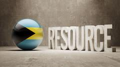 Bahamas. Resource Concept. Stock Illustration