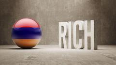 Armenia. Rich Concept. - stock illustration