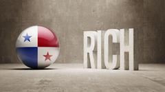 Panama. Rich Concept. - stock illustration