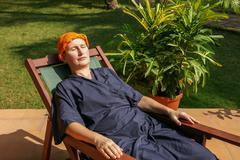 Ayurveda-treatment - stock photo