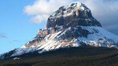 Crowsnest Mountain Timelapse Stock Footage