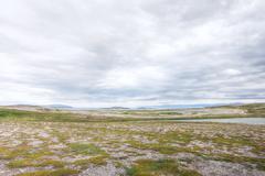 Northern Norwegian landscape Stock Photos