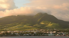 Saint Kitts island Stock Footage