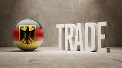 Germany. Trade Concept. - stock illustration