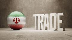 Iran. Trade Concept. - stock illustration