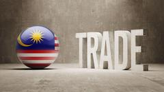 Malaysia. Trade Concept. - stock illustration