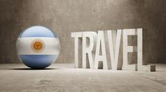 Argentina. Travel Concept. - stock illustration