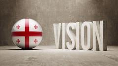 Stock Illustration of Georgia Vision Concept.