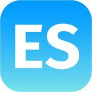ES domain icon Stock Illustration