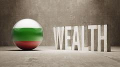 Bulgaria. Wealth Concept. - stock illustration