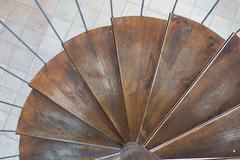 Spiral stairs Kuvituskuvat