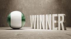 Nigeria. Winner Concept. Piirros