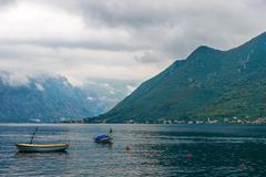 Perast, Montenegro. - stock photo
