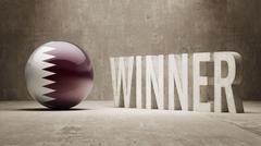 Qatar. Winner Concept. Piirros