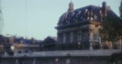 Paris Old Buildings 60s 70s 16mm Super8 Stock Footage