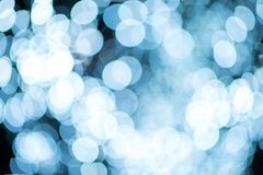 Defocused Lights Abstract Photo Background. - stock photo