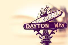 Rodeo Dayton Beverly Hills - stock photo