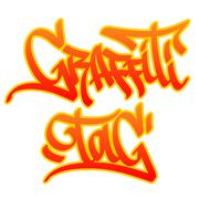 Stock Illustration of Graffiti Tag