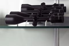 Complements for weapons Stock Photos