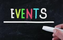 Events concept Stock Photos