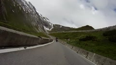 Stock Video Footage of Biking in the dolomites
