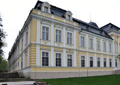 Neo-baroque castle Stock Photos