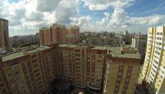 Aerial Stock Footage Novosibirsk city Stock Footage