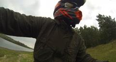 Stock Footage ATV POV - stock footage
