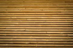 Horizontal slats wood Stock Photos
