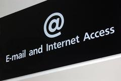 internet access - stock photo
