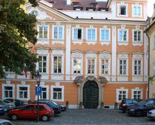 Prague house - stock photo