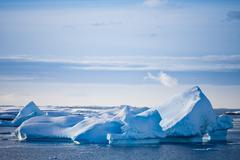 Antarctic glacier Stock Photos