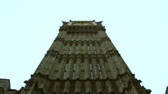 Stock Video Footage of Big Ben House of Commons London England Dramatic Summer Winter Autumn Spring