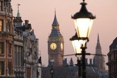 Big Ben at Dawn Stock Photos