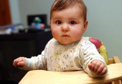Little babe - stock photo