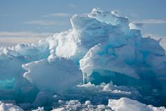 Antarctic Glacier - stock photo