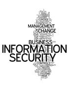Word Cloud Information Security Stock Illustration