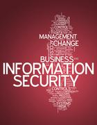 Word Cloud Information Security - stock illustration