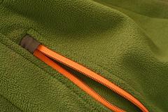 softshell zipper - stock photo