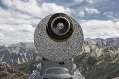 Telescope mountains Stock Photos