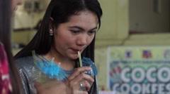 Beverage Taster Stock Footage
