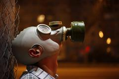 Stock Photo of Gas mask