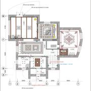 Ceiling Plan - stock illustration