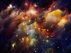 Stock Illustration of Vibrant Nebula