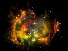 Nebula Magic - stock illustration