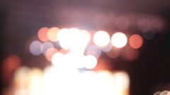 Concert Light Strobes Stock Footage