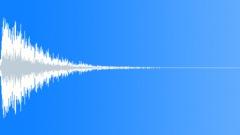 Futuristic Slowdown Impact Sound Effect