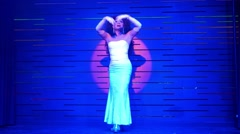 Thai Drag Queen Performing at the Stage in Cabaret Stock Footage
