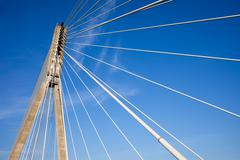 Modern Bridge Abstract Architectur - stock photo